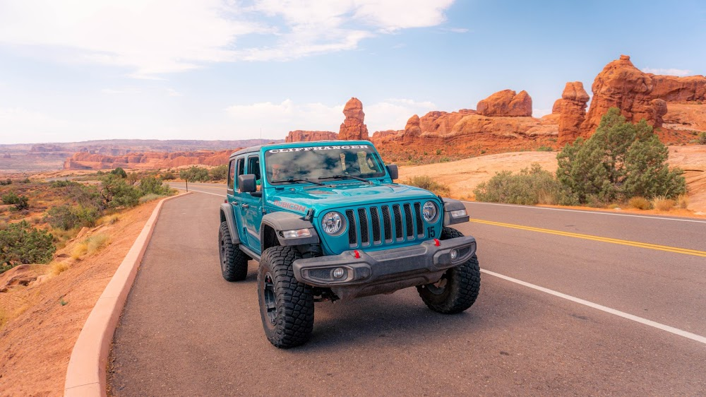 Cliffhanger Jeep Rental – Moab – Utah
